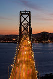 San Francisco Bay Bridge Stock Images