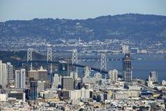 San Francisco Bay Bridge Royalty Free Stock Photo