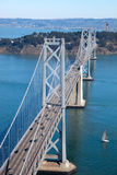 San Francisco Bay bridge Royalty Free Stock Photography