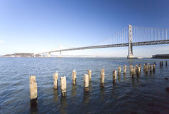 San Francisco Bay bridge Stock Image