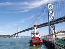 San Francisco Bay Bridge Stock Photography