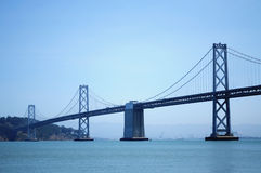 San Francisco Bay Bridge Stock Foto