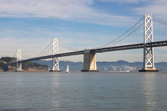 San Francisco Bay Bridge Royalty Free Stock Images