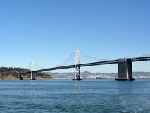 San Francisco Bay Bridge and Bay Stock Images