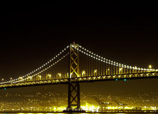 San Francisco Bay Bridge Brilliance Part 1 Photos libres de droits