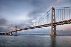 San Francisco Bay Bridge Royalty Free Stock Image
