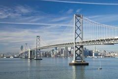 San Francisco and Bay bridge Royalty Free Stock Photography