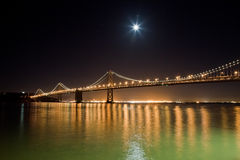 San Francisco Bay bridge Stock Photos