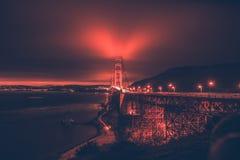 San Francisco Bay and Bridge Royalty Free Stock Photography