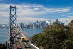 San Francisco-The Bay Bridge Stock Photography