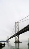 San Francisco Bay bridge. View of San Francisco Oakland Bay bridge Royalty Free Stock Images