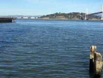 San Francisco Bay, die over tijd vergeten stock foto's