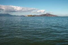 Free San Francisco Bay From Pier In Sunny Warm Day Stock Photos - 108642723