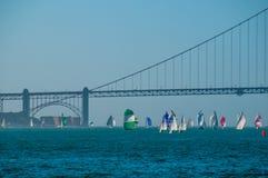 San Francisco Bay Golden Gate Regatta royalty-vrije stock foto