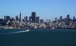 San Francisco bay linia horyzontu zdjęcia stock