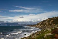 San Francisco Bay Ocean Beach imagens de stock
