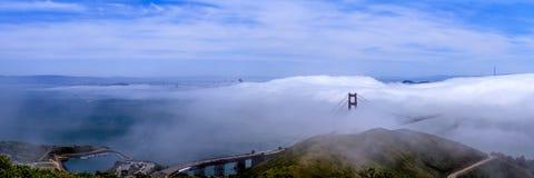San Francisco Bay panorama Stock Image