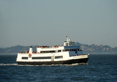 San Francisco Bay tour boat Royalty Free Stock Photo