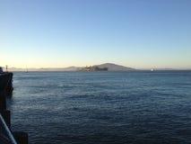 San francisco bay ocean view water alcatraz stock image