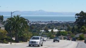 San- Francisco Baybereichsskyline lizenzfreie stockfotografie