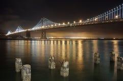 San- Francisco Baybrücke Stockfotografie