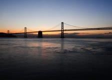 San- Francisco Baybrücke Stockfoto