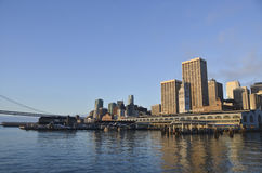 San Francisco Bayfront Stock Photography
