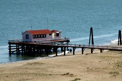 San francisco beach Royalty Free Stock Image