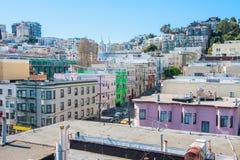 San Francisco beskådar Fotografering för Bildbyråer