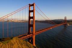 San Francisco bij zonsondergang Stock Foto
