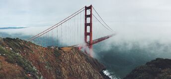 San Francisco bridge Stock Photo