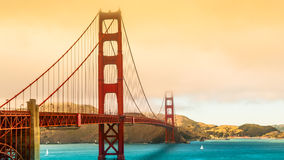 San Francisco Bridge Royalty Free Stock Photography