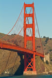 San Francisco Bridge. Late afternoon is the fall Stock Image
