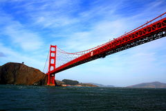 San Francisco bro Royaltyfria Foton