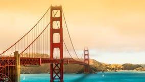 San Francisco bro Royaltyfri Fotografi