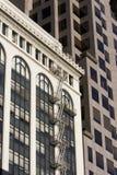 San Francisco Buildings. Building Detail in San Francisco Royalty Free Stock Photos