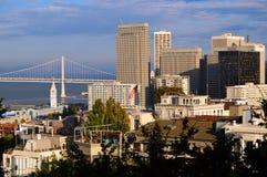 San Francisco Business District fotografering för bildbyråer