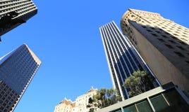 San Francisco byggnader i centret, CA Royaltyfri Fotografi