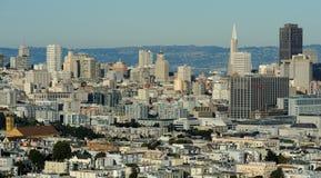 San Francisco céntrico imagen de archivo libre de regalías