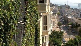 San Francisco céntrico almacen de metraje de vídeo