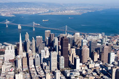 San Francisco céntrico, California Foto de archivo