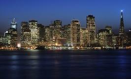 San Francisco céntrico en Chri Foto de archivo libre de regalías