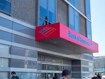 Bank of America location in San Francisco. stock photos