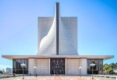 San Francisco, CA, EUA - 27 de julho de 2014: Catedral do St Mary's, San Francisco EUA Foto de Stock Royalty Free