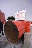 SAN FRANCISCO, CA, EUA - SEPT 22, 2013: Os povos veem o fragmento de G imagem de stock