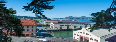 San Francisco`s Fort Mason Royalty Free Stock Image