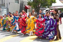 41st annual Carnaval Festival in San Francisco, California. San Francisco, CA - May 25, 2019: Unidentified participants at the 41st annual Carnaval Festival in stock photo