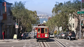 San Francisco Cable Car Stock Photography