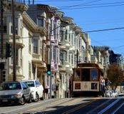 San Francisco Cable Car Fotografia Stock Libera da Diritti
