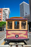 San Francisco Cable Car Fotos de archivo libres de regalías